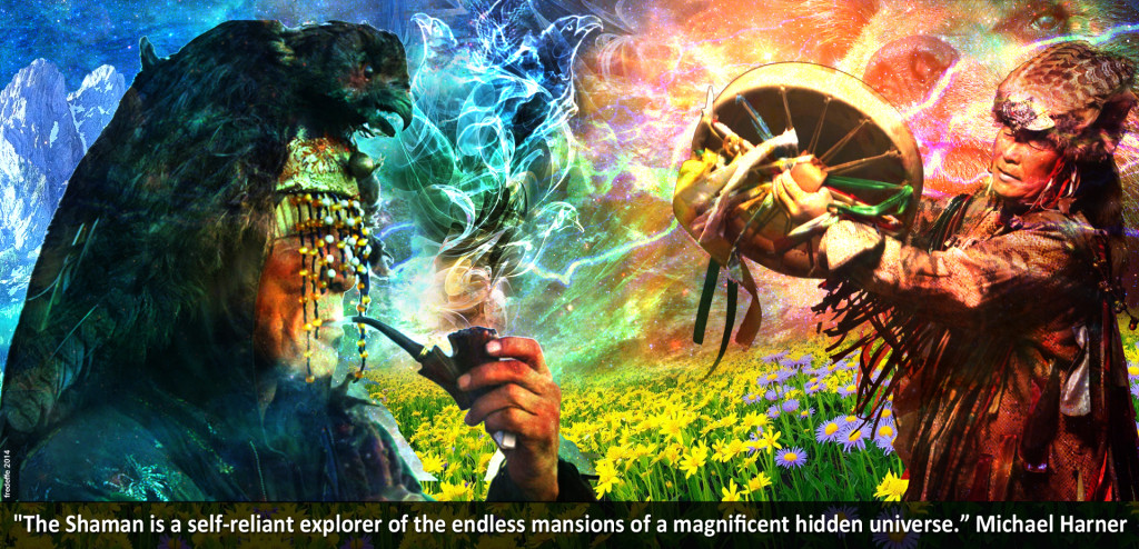 The Shaman, explorer of a magnificent hidden universe
